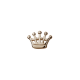 Stow Lockets solid Rose Gold Crown - Queen charm