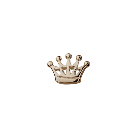 Rose Gold Crown - Queen charm
