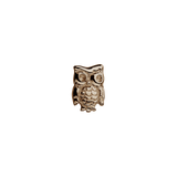 Stow Lockets solid Rose Gold Owl - Wise One charm