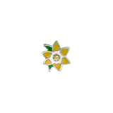 Stow March Daffodil - New Beginnings birth flower charm