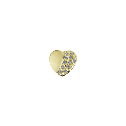 Gold Strength - Brown Topaz CZ