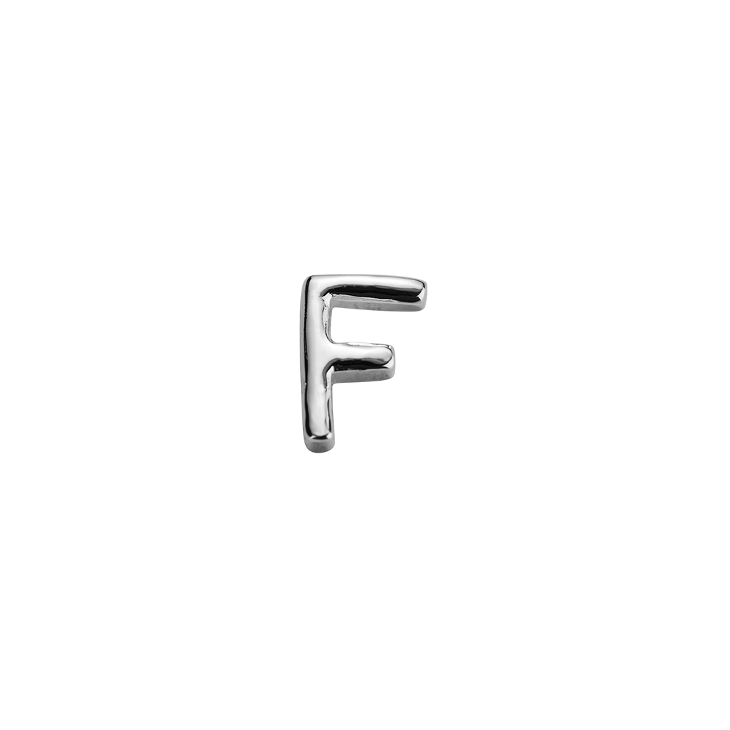 F letter charm