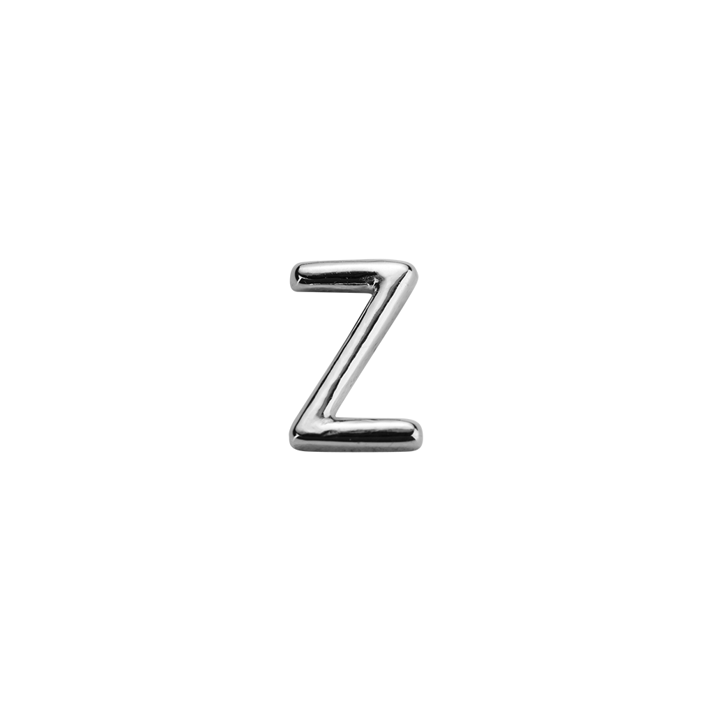 Stow Lockets sterling silver Z silver letter charm
