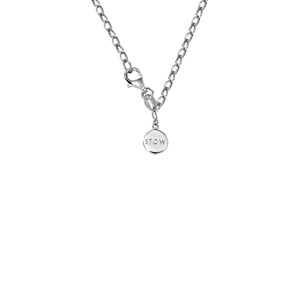 Stow Lockets silver belcher chain 45, 55 and 75cm