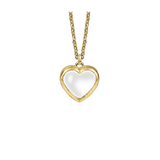 Stow Lockets medium gold heart locket pendant