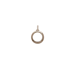 Stow Lockets 15mm classic rose gold locket pendant