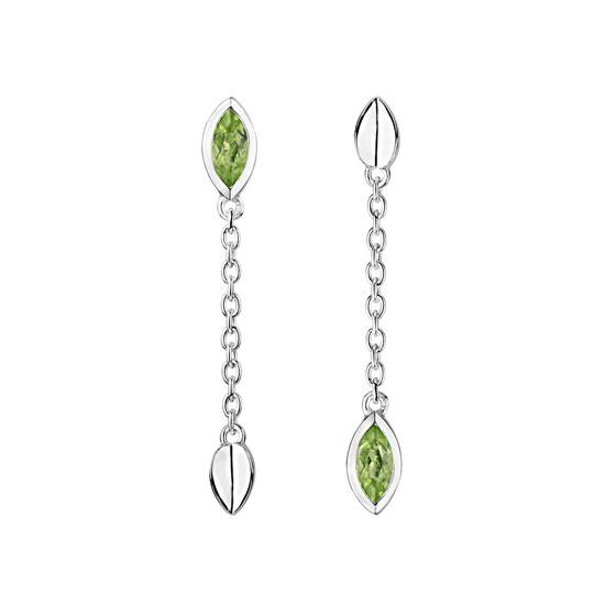 Vitality Drop earrings featuring peridot