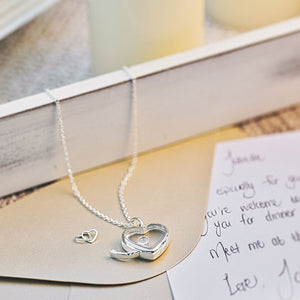 Medium Silver Heart Locket