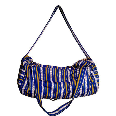 Hand Loomed Duffel Bag