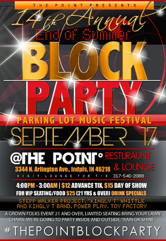 SEPTEMBER 17, 2016 STARTING AT 4:00 PM OUR 14TH ANNUAL BLOCK PARTY