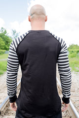 RAD-CAN Striped Black/ Grey
