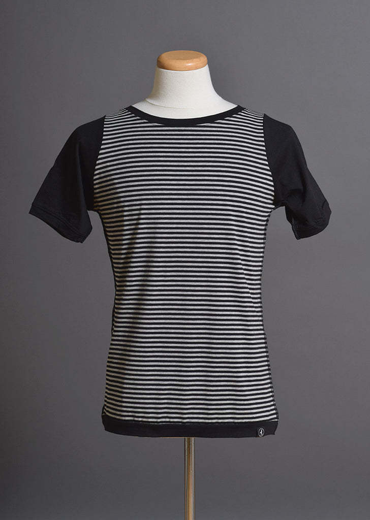 Striped Wide Collar