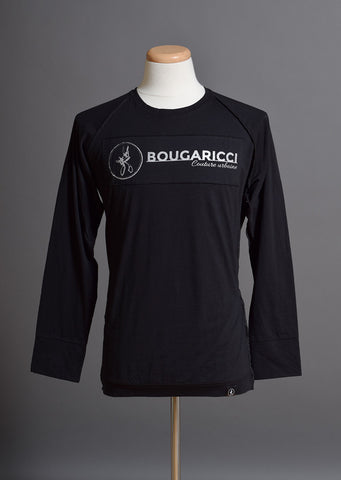 Bougaricci Rectangle Logo Long Sleeve