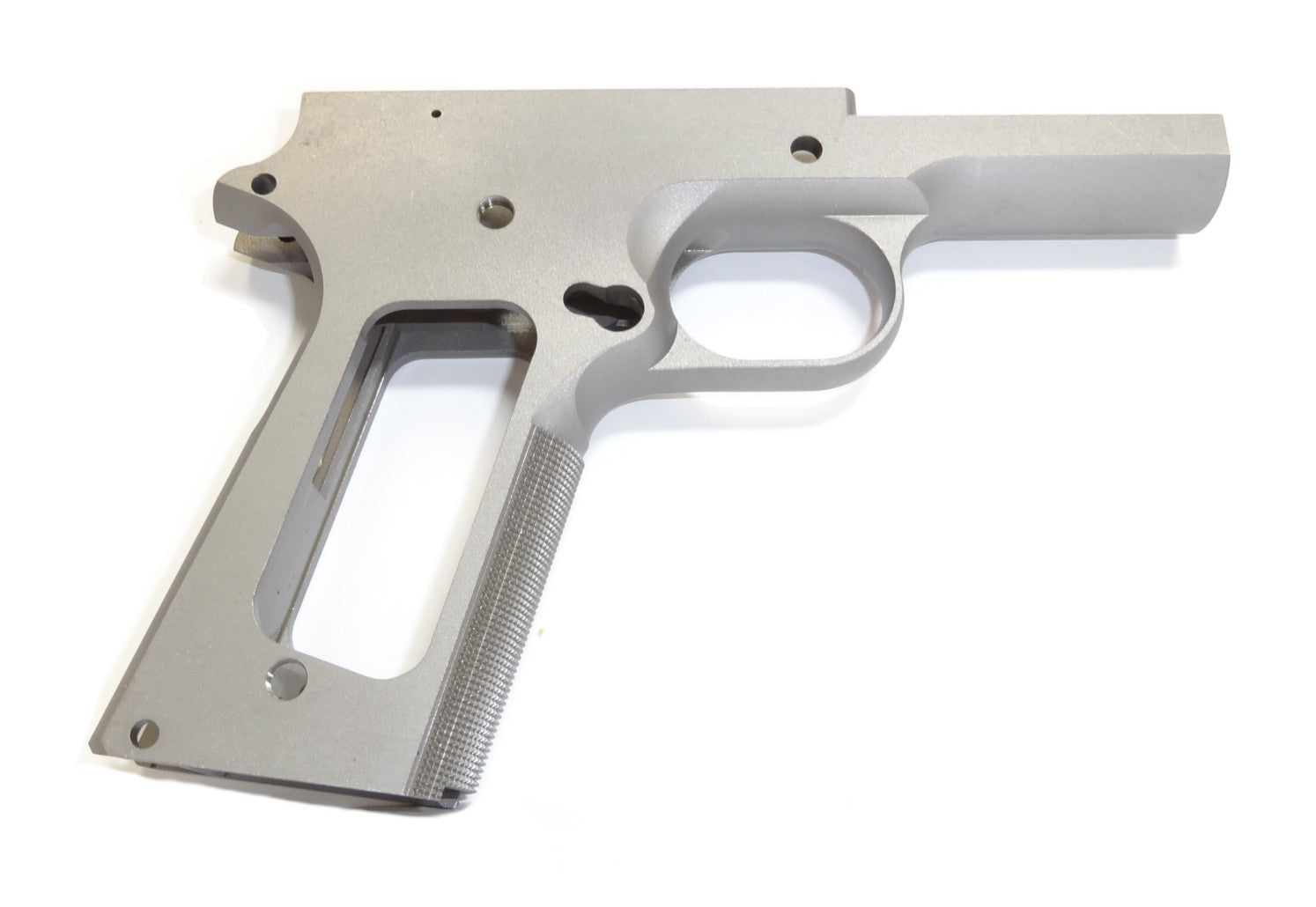 1911 80% FULL SIZE RAMPED FRAME 416R OR 4140 WITH CHECKERED GRIP ...