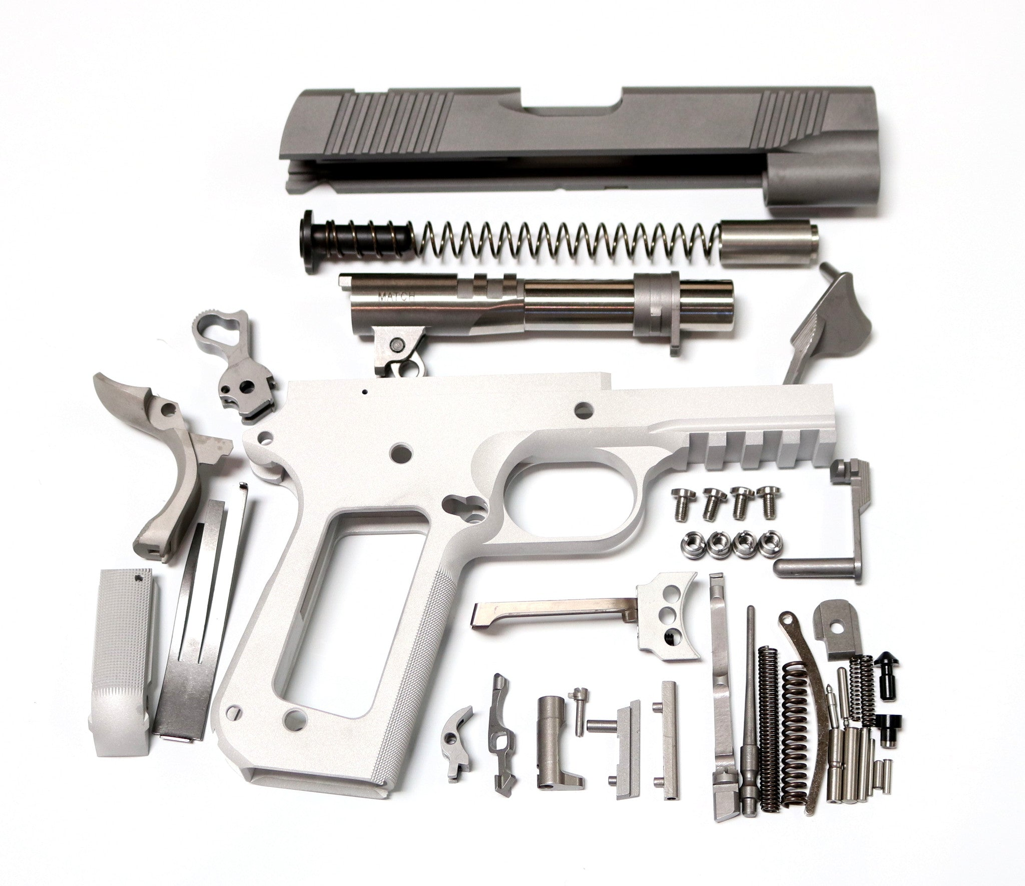 1911 80% BOBTAIL COMMANDER BUILD KIT WITH RAIL GI 4.25\