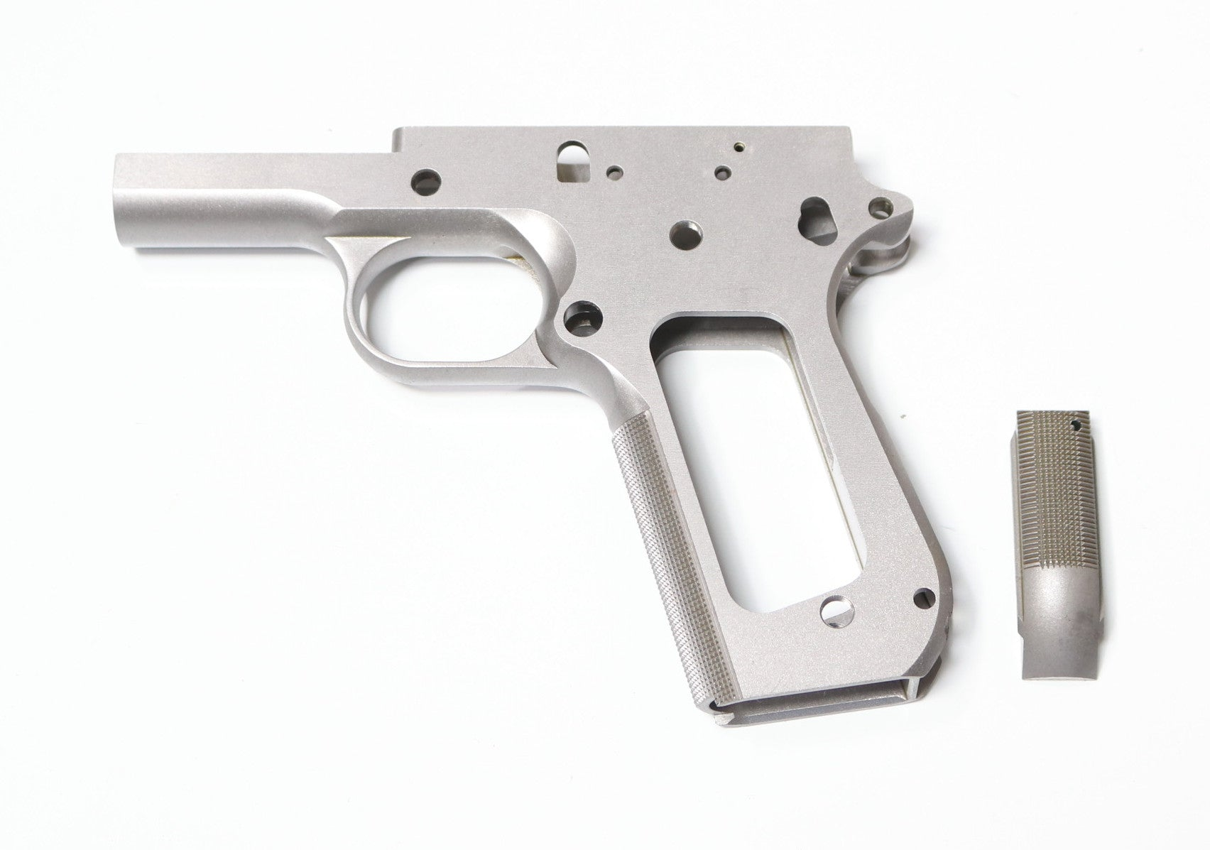 1911 80% BOB TAIL COMMANDER 416 FRAME WITH CHECKERED GRIP | 1911 ...