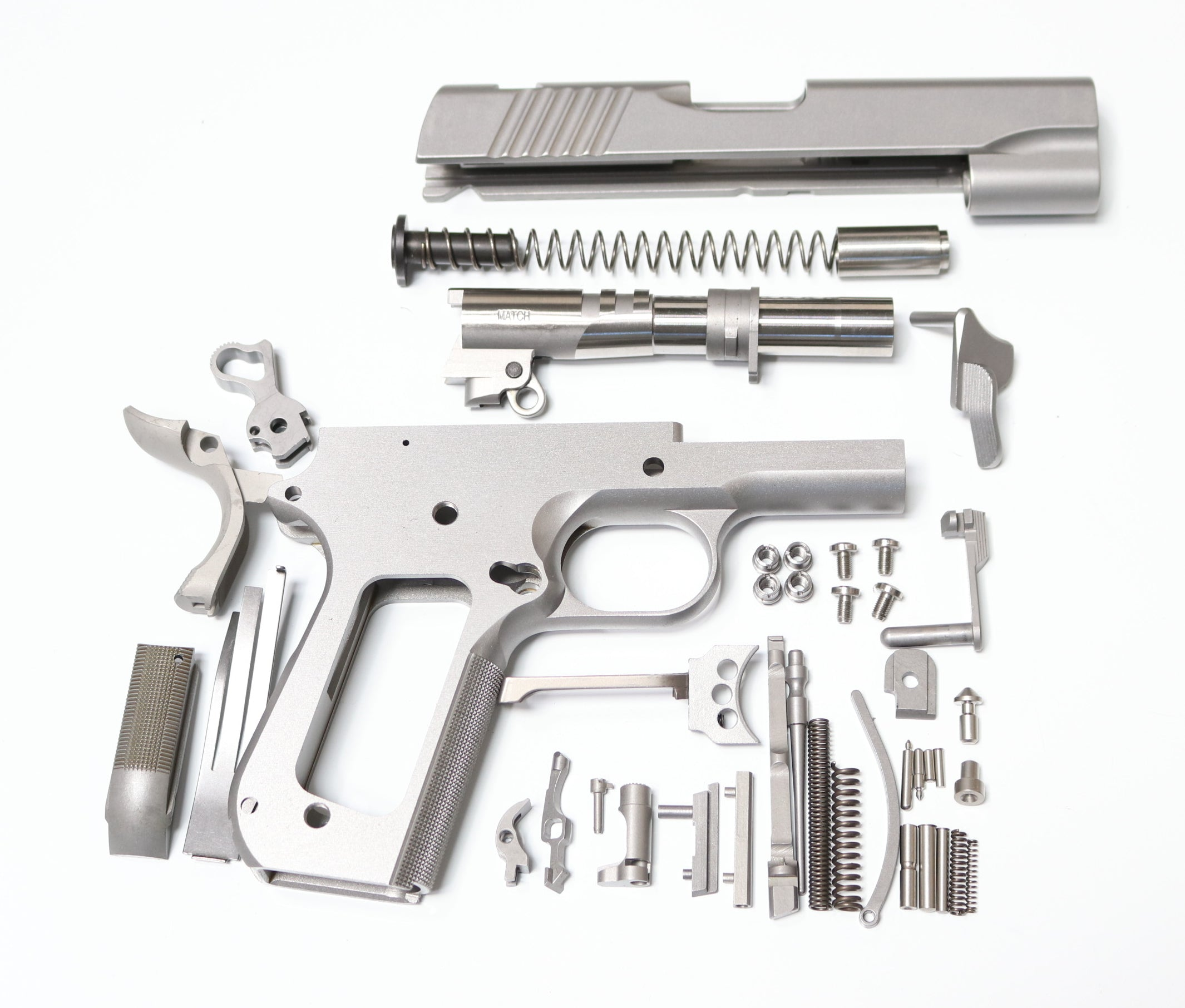 1911 80% BUILDERS KIT (2) GI .45 ACP FORGED 416R OR 4140 CS W ...