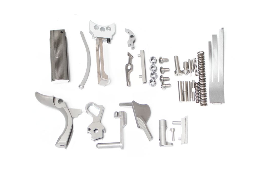 1911 FULL SIZE FRAME ONLY SMALL PARTS KIT BILLET 416 STAINLESS ...