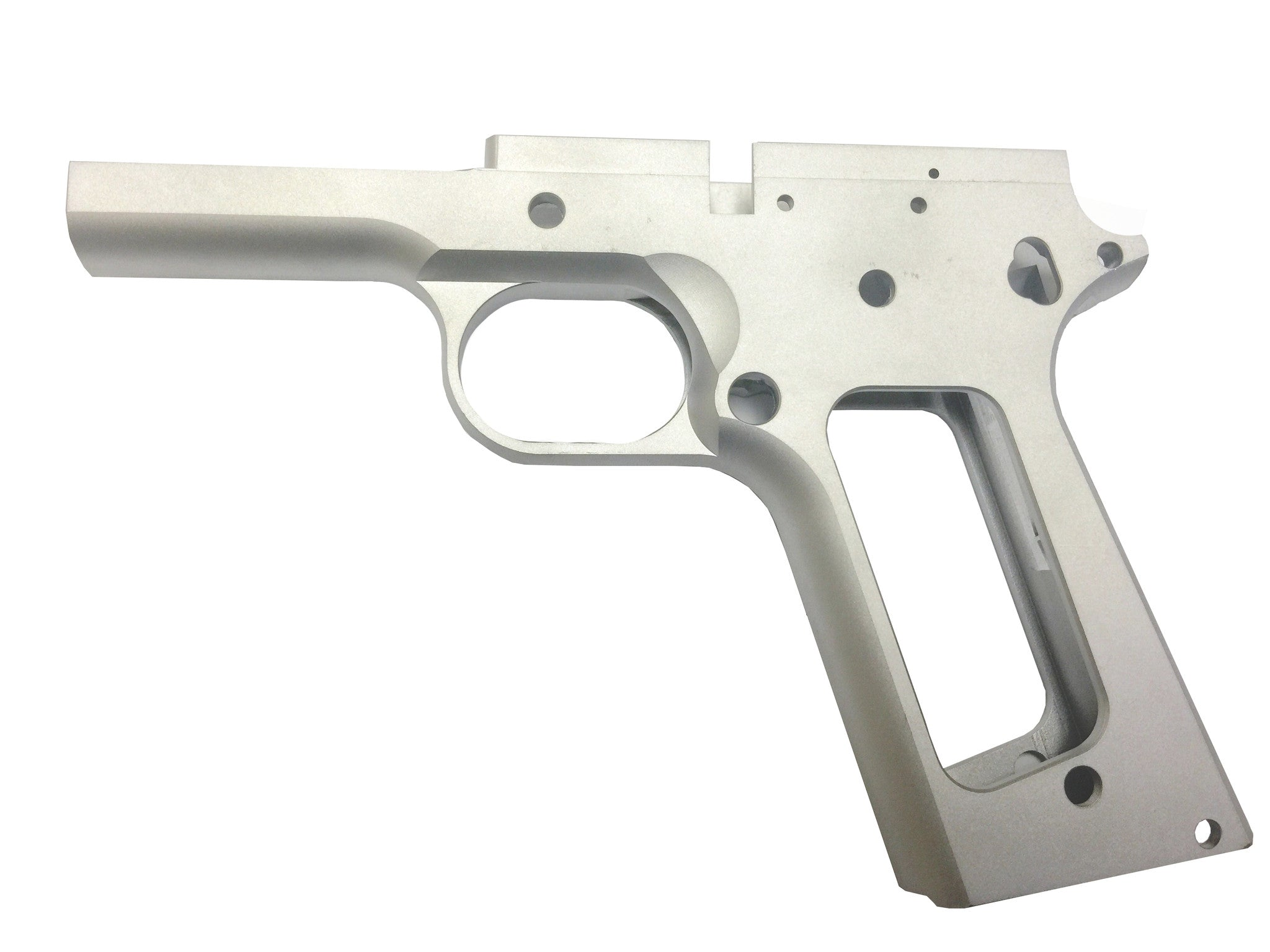 1911 80% FULL SIZE GI FRAME 7075 BILLET ALUMINUM SMOOTH GRIP | 1911 ...