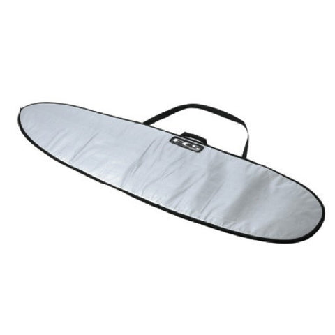 FCS 8'0'' Fun Board White/Tarpee Cover