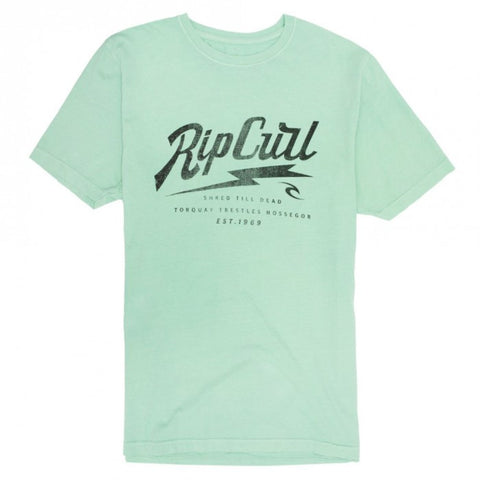 Rip Curl Spike Heritage Tee Cabbage
