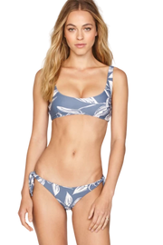 Amuse Society Joan Teensy Bikini Bottom Blue