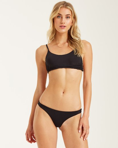 Billabong Sol Searcher Fiji Bikini Bottom Black Pebble