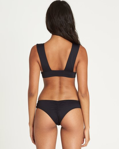 Billabong Sol Searcher Hawaii Lo Bikini Bottom Black Pebble