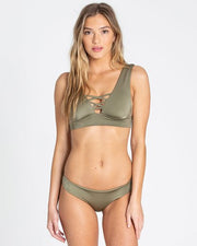 Billabong Sol Searcher Hawaii Lo Bikini Bottom Sage