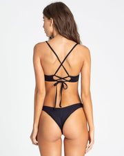Billabong Sol Searcher Hike Bikini Bottom Black Pebble