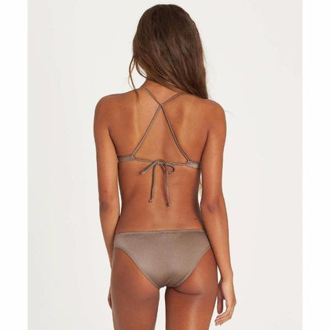 Billabong Sol Searcher Fix Tri Bikini Top Clay