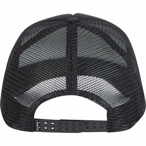 Billabong Podium Trucker Hat Black White