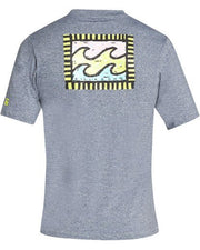 Billabong Nairobi S'S Loose Fit Rashguard Grey Heather