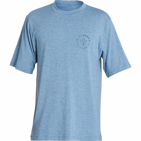 Billabong Rotor II Shortsleeves Loose Fit Rashguard Royal Heather