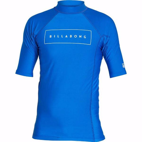 Billabong All Day United Shortsleeve Rashguard Royal