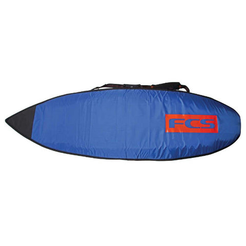 "FCS 6'3"" All Purpose Classic Cover Steel Blue / White"