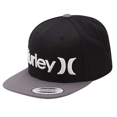Hurley One And Only Snapback Hat Black