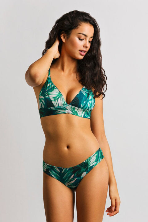 June Swimwear Bootykini Bottom Tea Tree