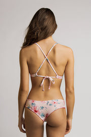 June Swimwear Manue Bikini Bottom Mama Pink / Fleur de Bach