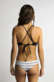 June Swimwear Manue Bikini Bottom Nanaimo/Onyx