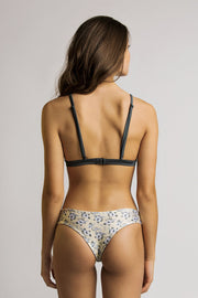 June Swimwear Manue Bikini Bottom Titanium / Summer Night