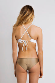 June Swimwear Olivia Bikini Bottom Oyster