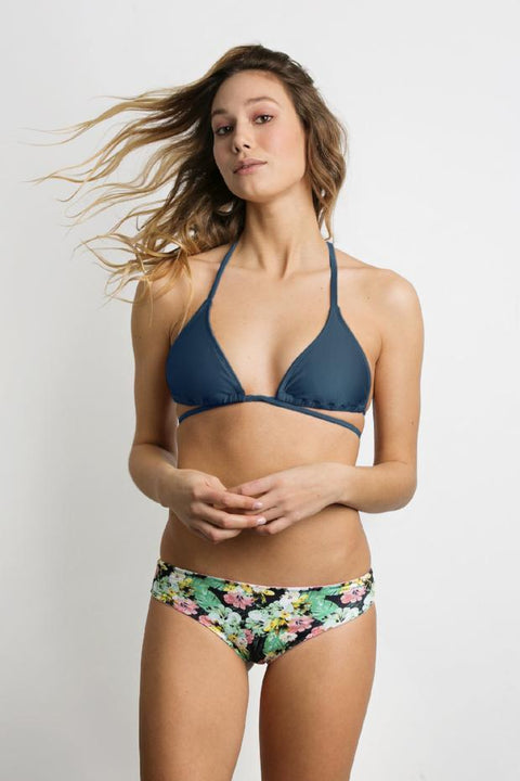 June Swimwear Bikini Java Top Deep Ocean