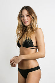 June Swimwear Bikini Java Top Ebony