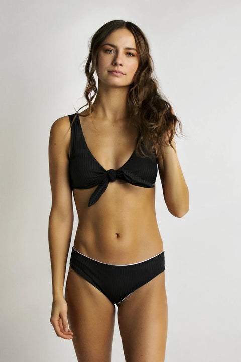 June Swimwear Roberta Bikini Top Onyx