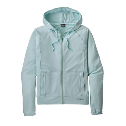 Patagonia Women's Coastal Hideaway Suncover UV Hoody Atoll Blue