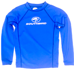 Southbird Kids Rashguard L'S Royal White