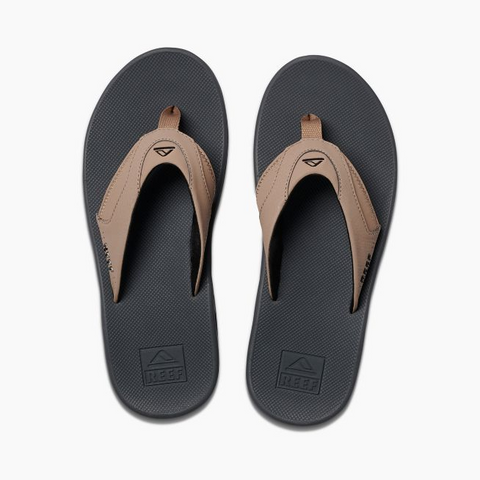 Reef Fanning Sandals Tan/Black/Tan