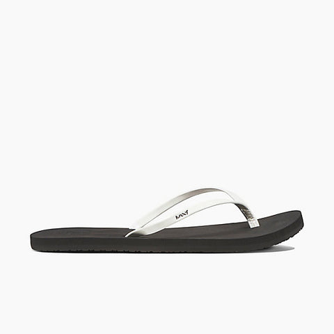 Reef Bliss Sandals Pearl White