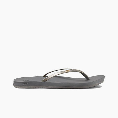 Reef Cushion Bounce Slim Sandals Pewter